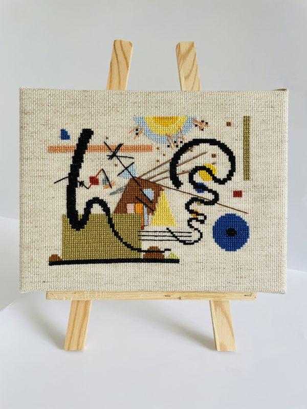 Kandinsky cross stitch